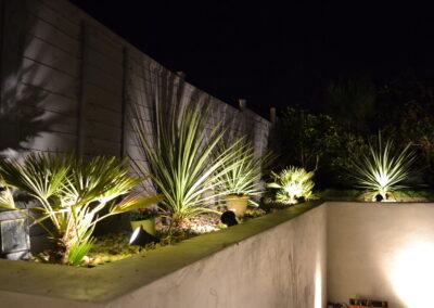 Garden lighting from WG Landcapes