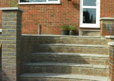 Hard landscaping and full garden renovation by WG Landscapes