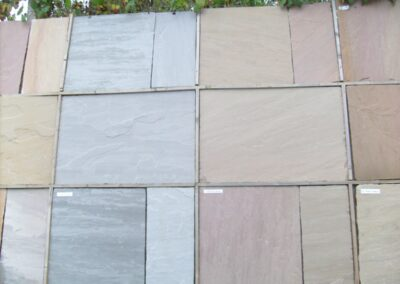 Materials library - paving slabs - WG Landscapes