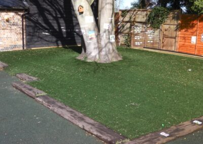Soft landscaping services by WG Landscapes
